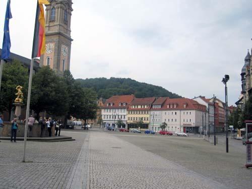 Marktplatz Eisenach - Georgenkirche, Georgsbrunnen