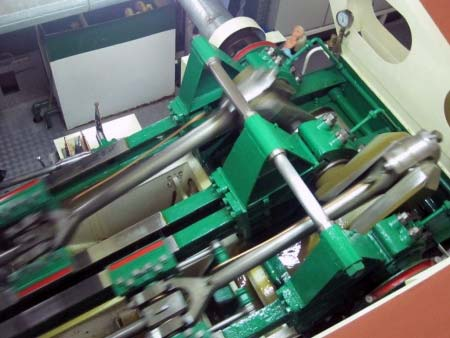 Maschinenraum Raddampfer