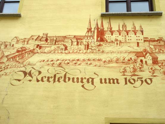 Merseburg um 1650