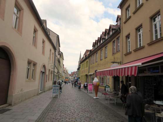 Fußgängerzone Merseburg