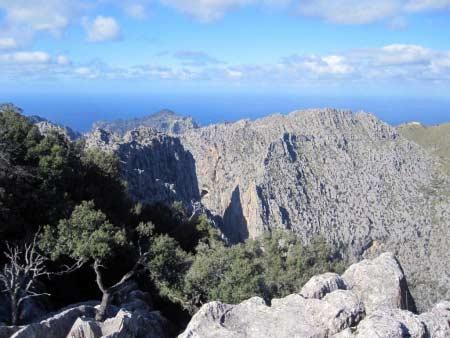 Mirador über Torrente de Pareis