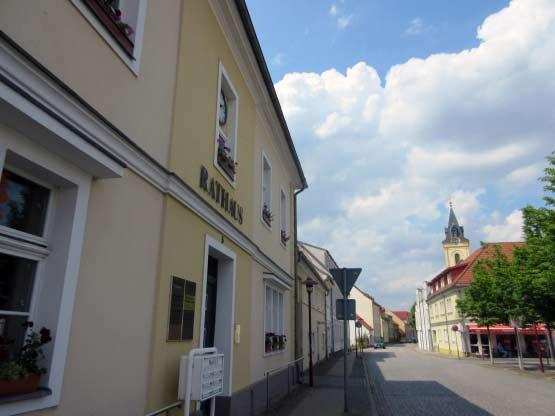 Zentrum Müllrose - Rathaus am Marktplatz
