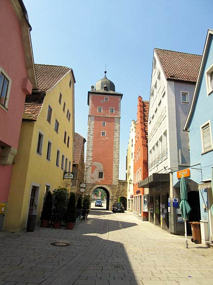 Der rote Klingentorturm