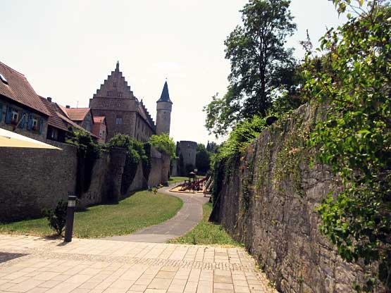 Die Stadtmauer, ein Grüngürtel