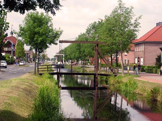 Kanäle und Zugbrücken