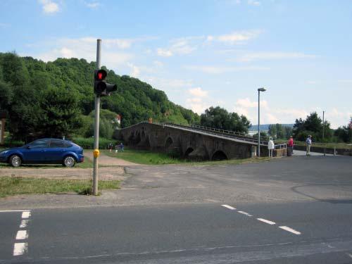 Parkplatz Werra Brücke