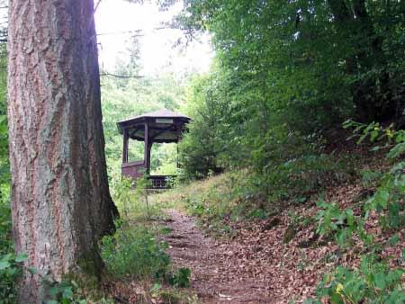 Pavillon Wolfsschlucht