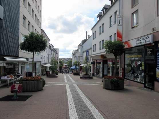 Fußgängerzone Hauptstraße