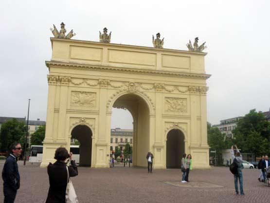 Das Brandenburger Tor von Potsdam