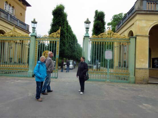Parkeingang Schloss Sanssouci