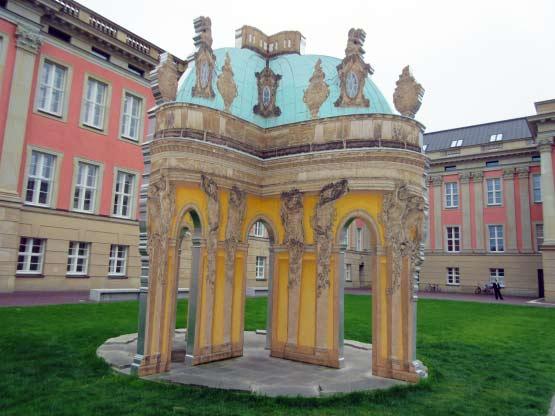 Eines der Pavillons