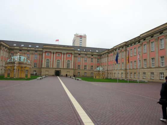 Innenhof des Stadtschlosses