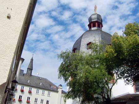 Rathaus-Kirche Bitburg