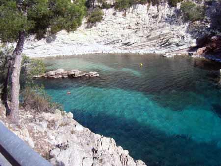Romantische Bucht Cala Fornells