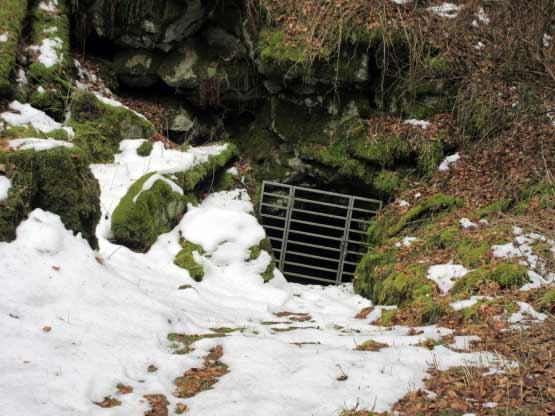 Fledermaus-Höhle
