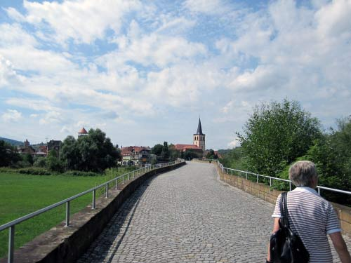 Rückweg Werra-Brücke