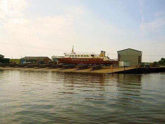 Schiffswerft in Oldersum