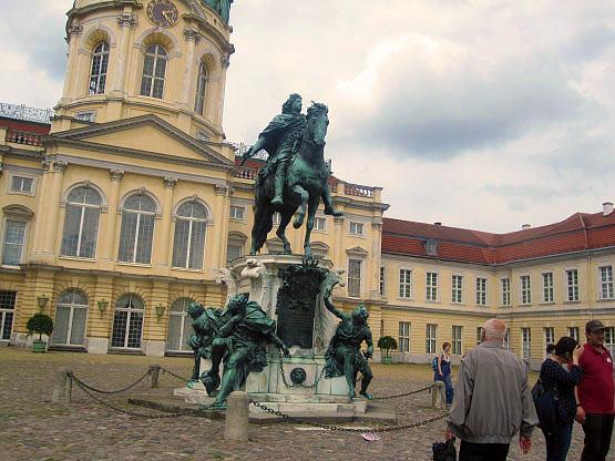 Barock-Denkmal Schloss Charlottenburg