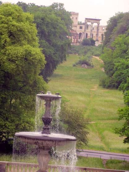 Blick vom Schloss