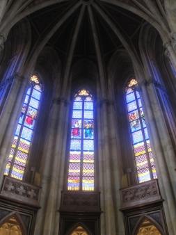 Schöne Glasfenster