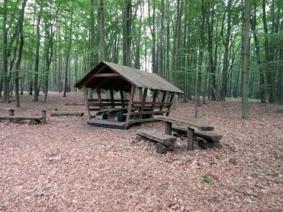 Schutzhütte an den Steinen