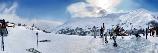 Winterurlaub in den Bergen