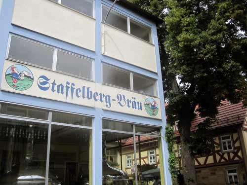 Brauerei heißt auf bayerisch: Bräu.