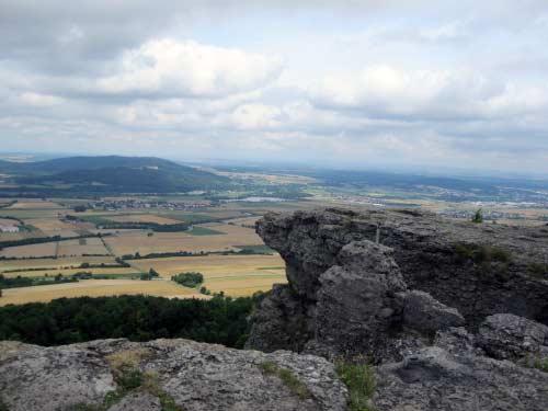 Auf der anderen Mainseite liegt Kloster Banz