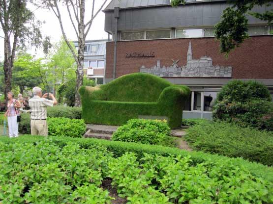 Straelen, die Grüne Couch