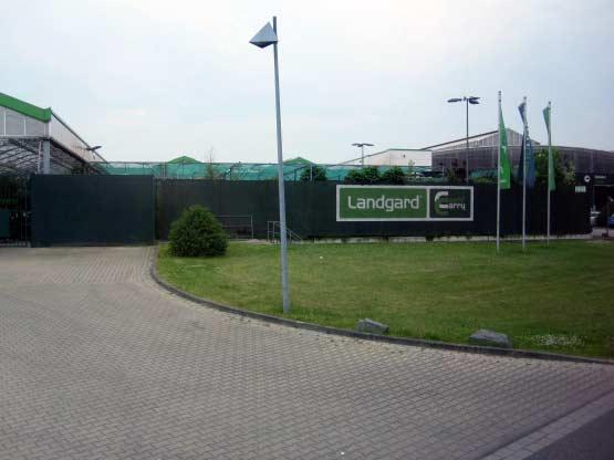 Landgard Gewächshäuser und Lagerhallen