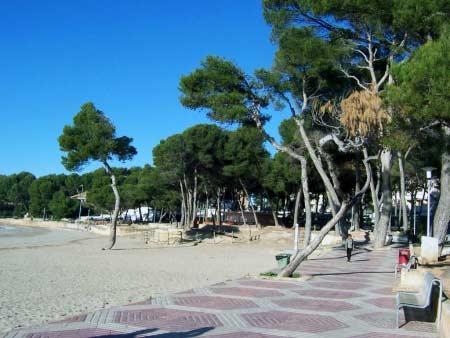 Strand Promenade Paguera