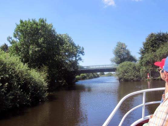 Straßenbrücke nach Timmel