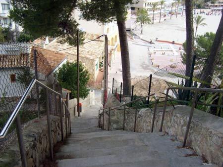 Treppe Strand Paguera