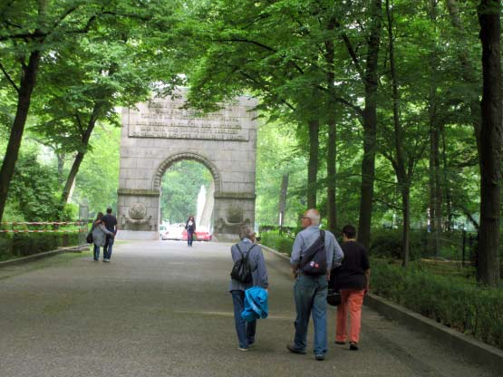 Treptower Park Triumpfbogen