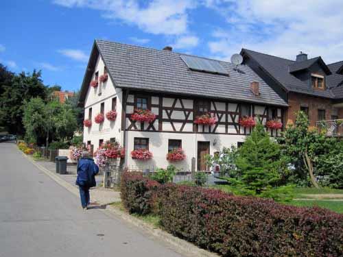Uetzing: Schöne Fachwerkhäuser