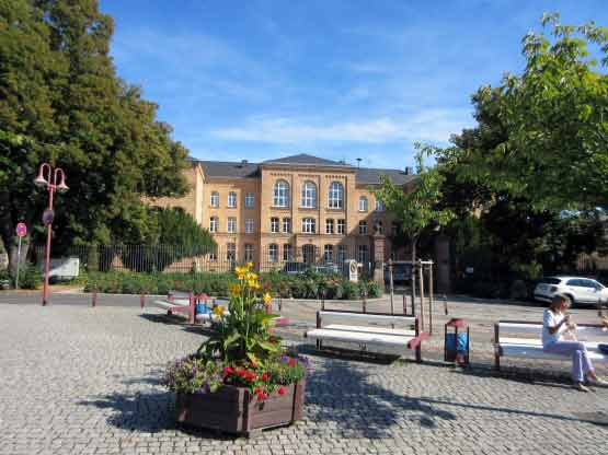 Der Schlossplatz
