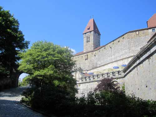 Einer der Burgtürme