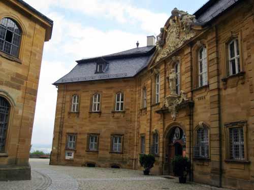 Klosterhof Kloster Vierzehnheiligen