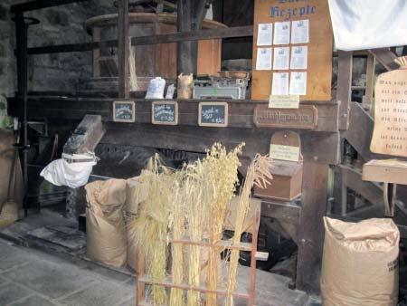 Wassermühle Innen