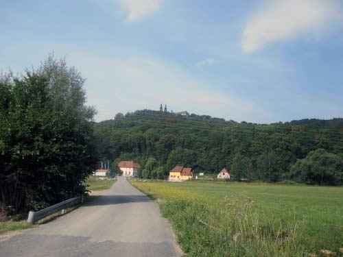 Weg nach Hausen und Kloster Banz