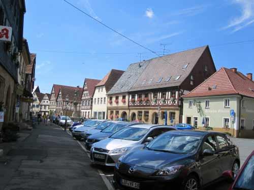 Am Markt in Weismain