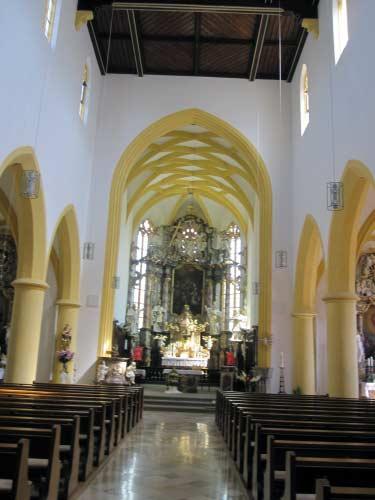 Innenraum von St. Martin