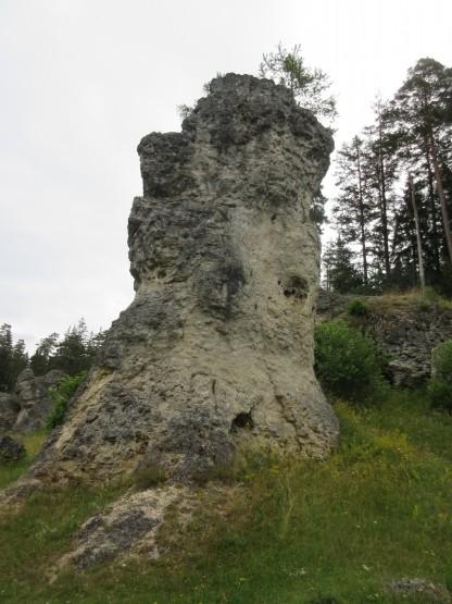 Wental - Fels am Wegesrand