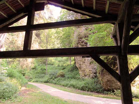 Schutzhütte am Wentalweg