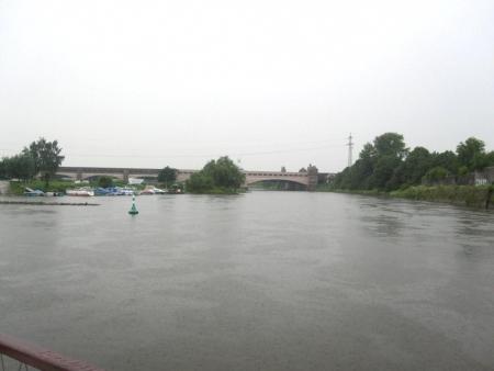 Weser Wasserstrassenkreuz