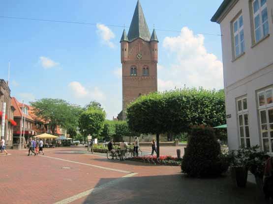 Westerstede Marktplatz