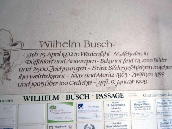 Biografie Wilhelm-Busch