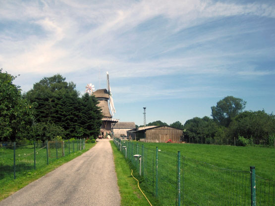Windmühle in Leer-Logabirum