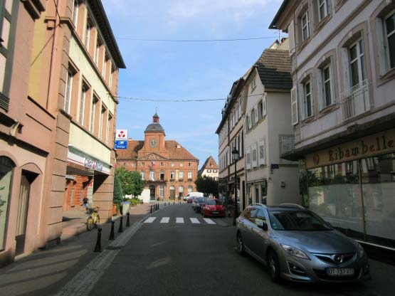 Wissembourg, Rathaus