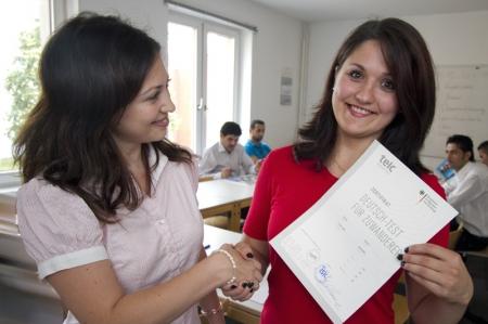 Deutschtests für Zuwanderer
